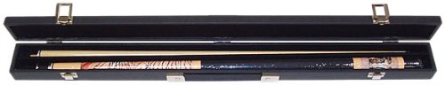 Trademark Siberian Tiger Billiard Pool Cue With Case Pool Stick