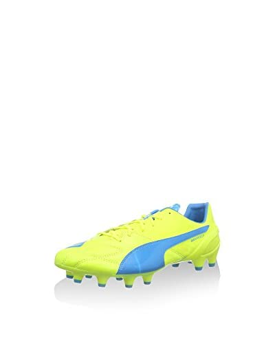 Puma Botas de fútbol Evospeed 1.4 Lth Fg Amarillo