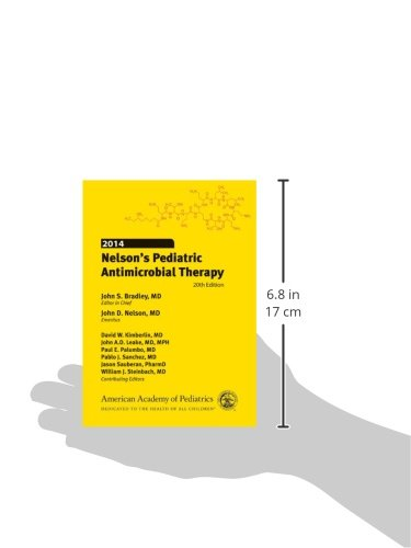 Nelson's Pediatric Antimicrobial Therapy 2014