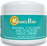 Natural Collagen and Placenta Night Creme- 2 oz.-Cream