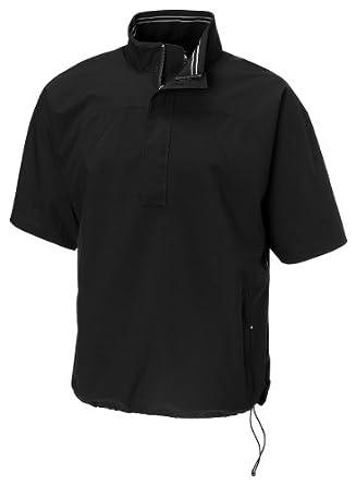 Cutter And Buck Mens Weathertec Chin Guard Half Zip Golf Windshirt by Cutter & Buck