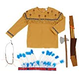 True Heroes Native Warrior Action Hero Set - Brown