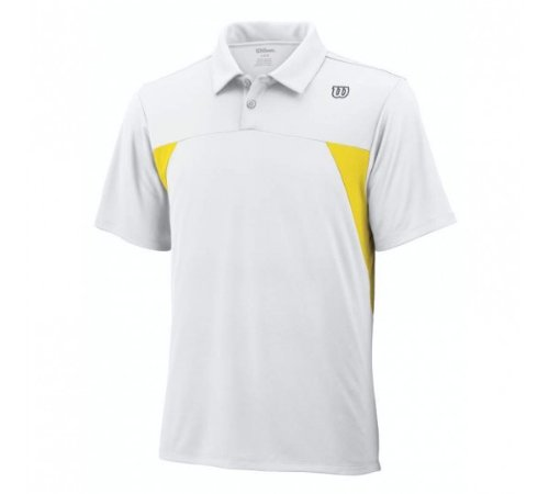WILSON-Battle-Polo da Tennis, da uomo