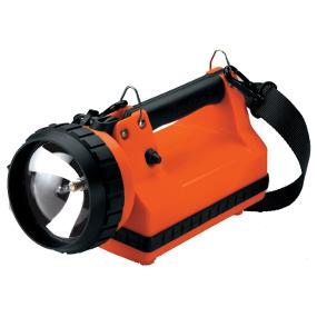 The Rugged Streamlight LiteBox Rechargeable Lantern in Orange