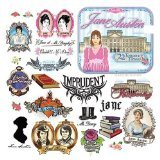 Accoutrements Jane Austen Tattoos - 1