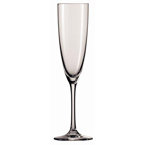 6x Commercial Classico en cristal Flûtes à champagne 210ml Restaurant Pub Bar