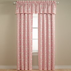 "Lightcatcher for Kids - 54""x15"" Valance Pink Clouds"