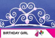 Elope Child B'day Girl Sash/Tiara Set
