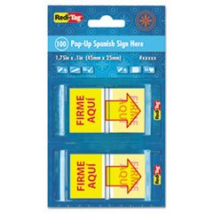 -- Spanish Page Flags in Pop-Up Dispenser, \