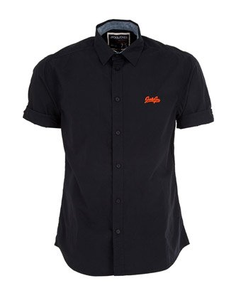 Jack & Jones Jules Shirt - Black - Mens