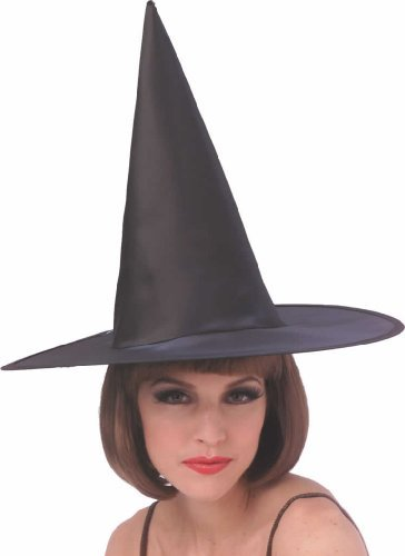 Satin Witch Hat (Adult)