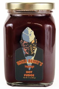 Uncle Denny's Hot Fudge Gourmet Ice Cream Topping