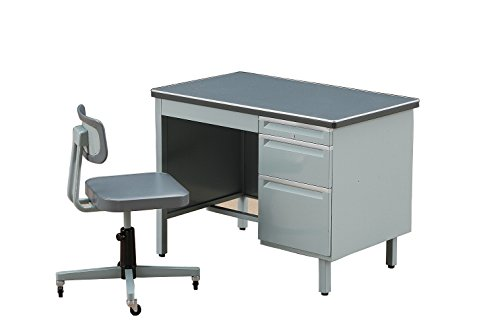 Desk and Chair 1/12 Office [ Japan Import ] - 1