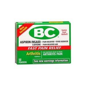 BC Arthritis Formula Powder, 50-Count [Health and Beauty]