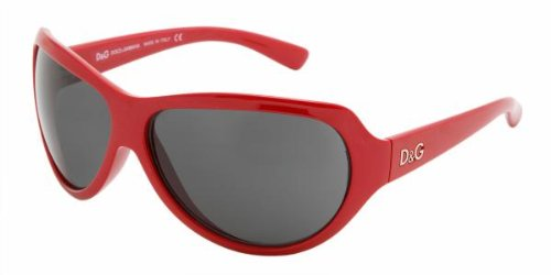 Authentic D&G Sunglasses 8052 METALLIC RED GRAY 88287