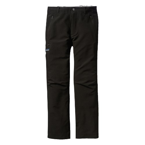 Patagonia Simple Guide Mens Soft Shell Trousers - L, Black