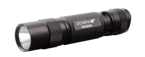 Olympia Ad220 High Performance Waterproof Cree Led Flashlight, 220 Lumens