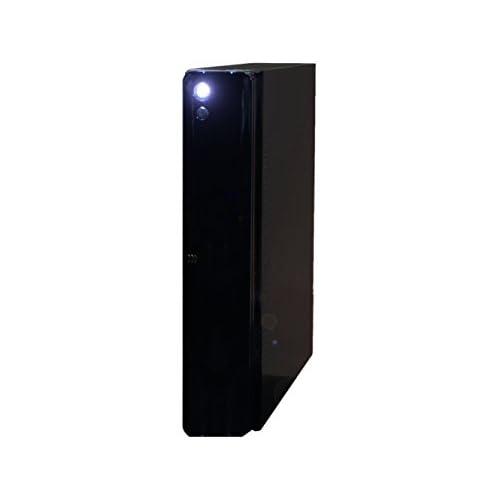 ファンレス電源搭載 SlimPc SD100 Core i7 HDD 1TB メモリ16GB ブルーレイ Windows7PRO Office ブラック 静音 1年保証 パソコンショップaba