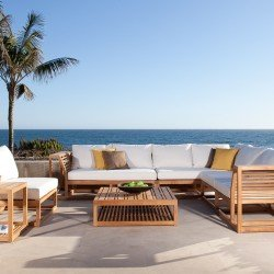 Maya Teak Luxury Outdoor Furniture Sofa Set | Best Product 2012 Patio