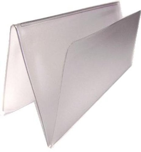 Checkbook Vinyl Protectors/Dividers for Leather & Hand Crafted Covers Set of 2 (Check Inserts compare prices)