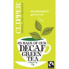 Clipper Decaffeinated Green Tea 25 Bags