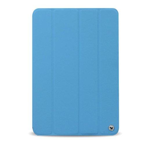 Zenus iPad mini ケース Masstige Smart Folio Cover ブルー Z1589iPM