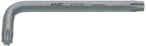 Hazet 2115-T40 Giravite Ad Angolo, Multicolore, Apertura Chiave T 40