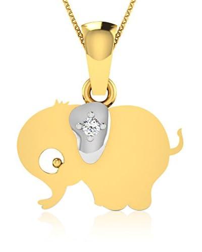 Friendly Diamonds Anhänger gold