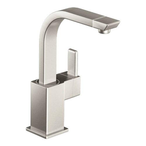 Moen S5170Srs 90-Degree One-Handle High Arc Single Mount Bar Faucet, Spot Resist Stainless front-97023