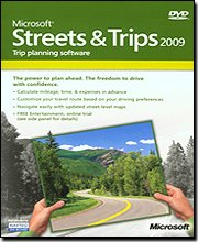 New Microsoft Corporation Microsoft Streets & Trips 2009 Updated Maps For The United States Canada