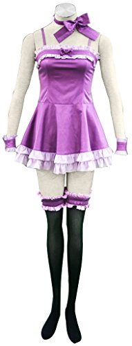 Mtxc Women's Vampire Knight Cosplay Costume Yuki Cross 1st Evening Dress