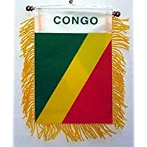 Republic of Congo - Window Hanging Flag