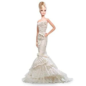 Vera Wang 'Romanticist' Bride Barbie Doll (Platinum Label)