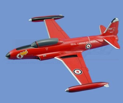 "CF-33  Silver Star """"Red Knight"" Aircraft Model Mahogany Display Model / Toy. Scale: 1/29"