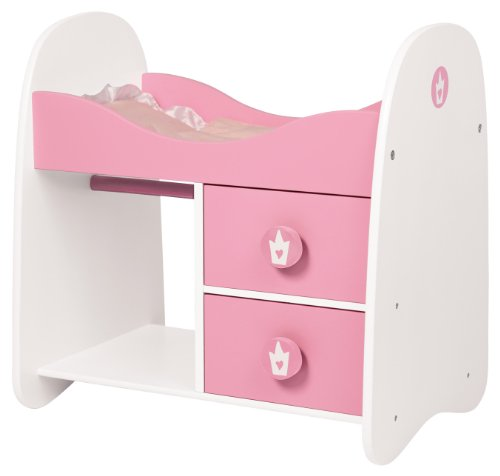 Bayer Design 50 x 36 x 51cm Doll Bed with Cabinet