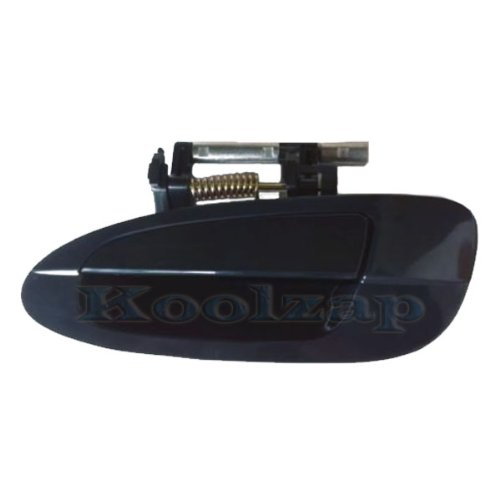 2002-2006 Nissan Altima Rear Black Outside Outer Exterior Door Handle Left Driver Side (2002 02 2003 03 2004 04 2005 05 2006 06) (Door Handle 2005 Nissan Altima compare prices)