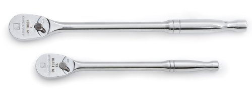 GearWrench 81268 84T Full Polish Long Handle Ratchet Set, 2-Piece (Gear Wrench Long Handle Wrench compare prices)