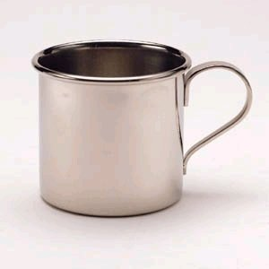 Oneida Child-Baby Child Cup, Stainless Steel 80828010A