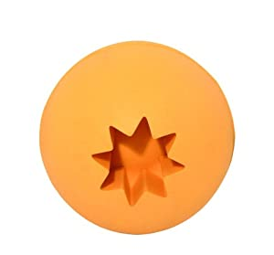 Simply Fido Rubb N Roll Treat Ball Pet Toy, Orange