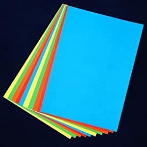A3 Bright Coloured Card - 100 Sheets