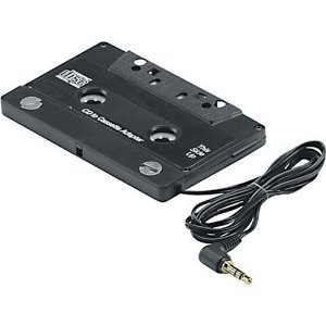 SWA 2066 W 10 Kassetten Adapter für Autoradio CD MP3-Kassette