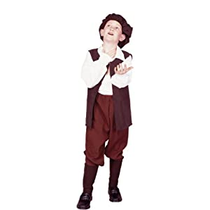 Child Medium 8-10 for 6-8 Yrs - Child Economy Renaissance Boy (shoes and socks not included)