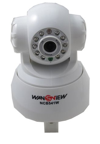 Wansview White Pan and Tilt Wifi 2-way Audio Ip Network IR Wireless Camera Cctv With built in Web Server at Sears.com