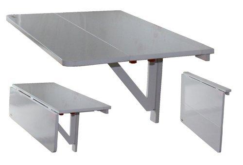 Sobuy mesa de cocina mesa de madera mesa plegable de - Table cuisine escamotable ou rabattable ...