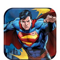 "Superman 7"" Dessert Plates 8 Count"