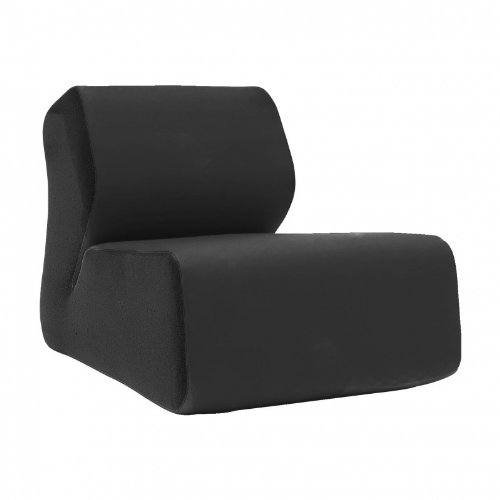 Hugo Lounge Chair black/felt fabric 636