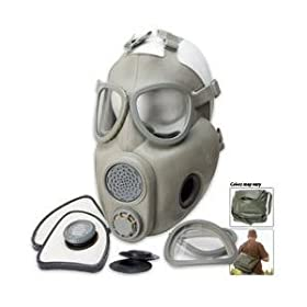 Military Surplus Czech M10M Gas Mask by Tactical+Surplus