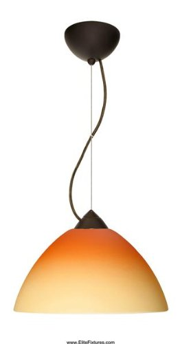 Besa Lighting 1KX-4202OP-BR Porto Cable Large Pendant