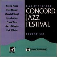 Live at the Concord Jazz Festival : 2nd Set by Frank Wess, Marshal Royal and Gerry Wiggins