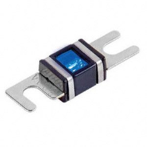 XScorpion 150 Amp Platinum Blue LED Mini ANL MIDI Fuse